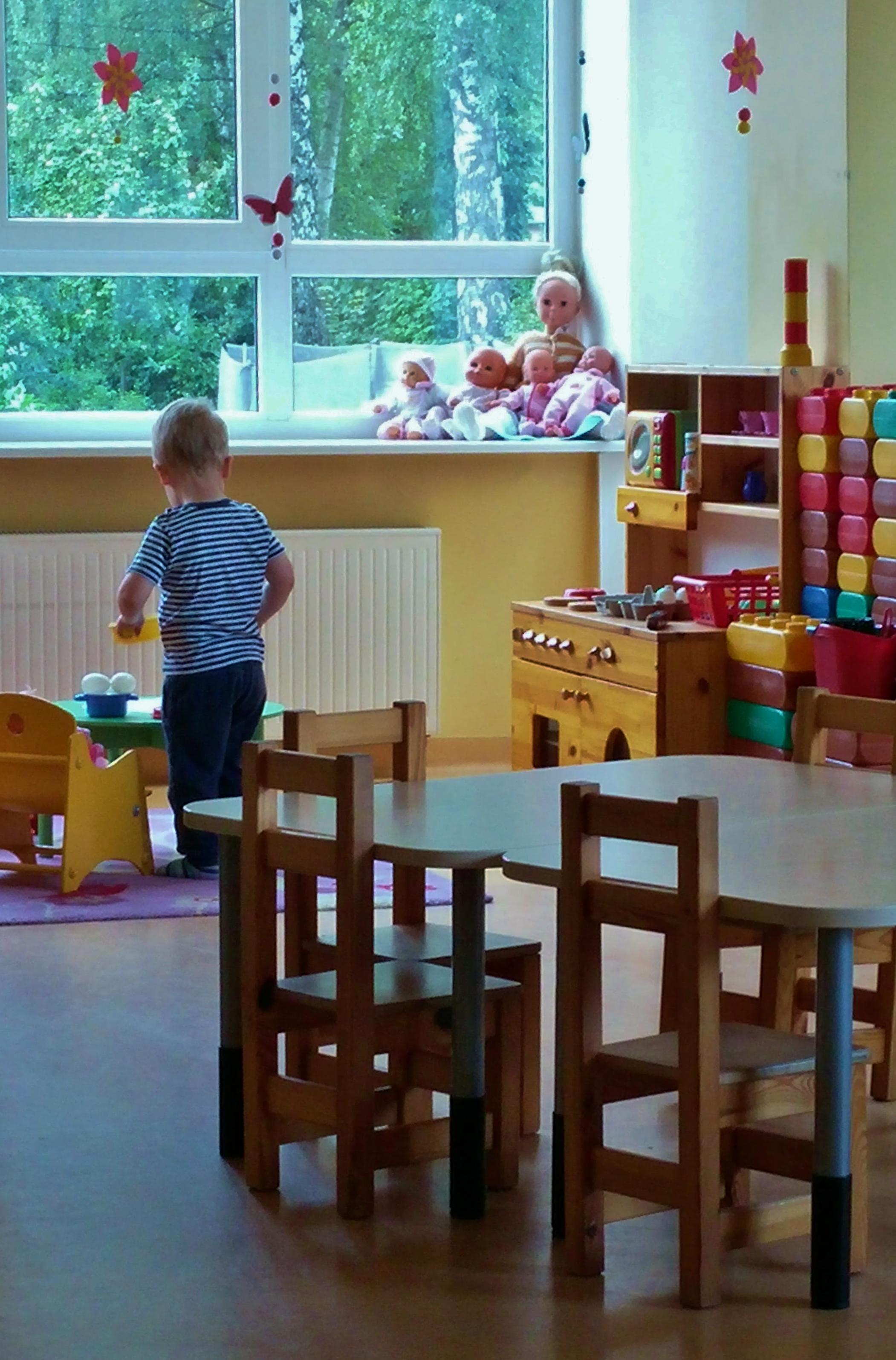 Kaitstud: Lasteaed
